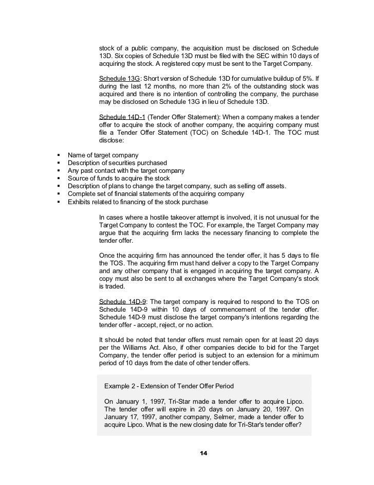 Mergers & acquisitions nots @ bec doms