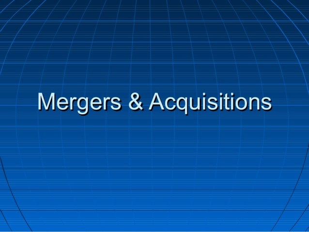 net present value mergers and acquistions The present value of the stream of net income between time zero and t is  on  prices is available from the mergers and acquisitions of money.