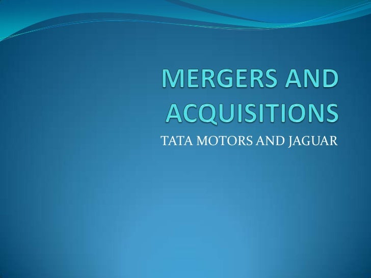 TATA MOTORS AND JAGUAR