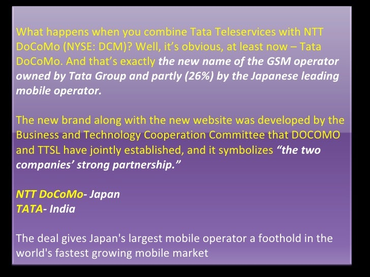 Tata corus case study