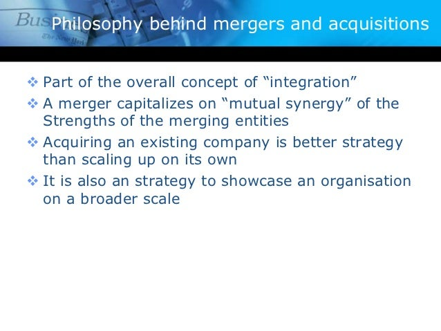 Mergers and Acquisitions: Definition