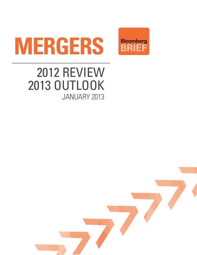 MERGERS  2012 Review 2013 outlook      January 2013