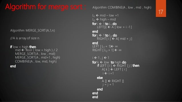 Merge Sort Analysis And Its Real Time Applications