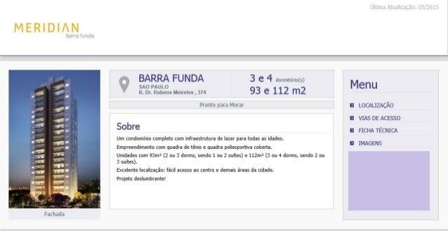 Meridian Barra Funda - Corretor Brahma - (11)999767659 - brahma@brahmainvest.com.br