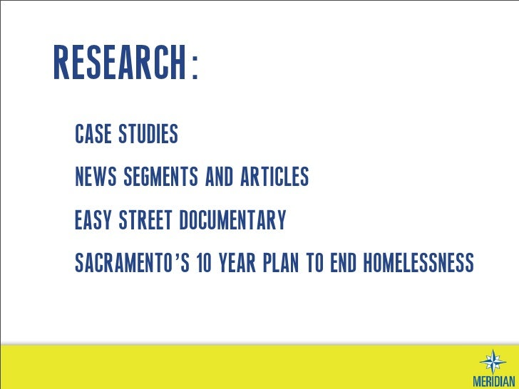 Crowded out: A case study of homelessness, crowding and ...
