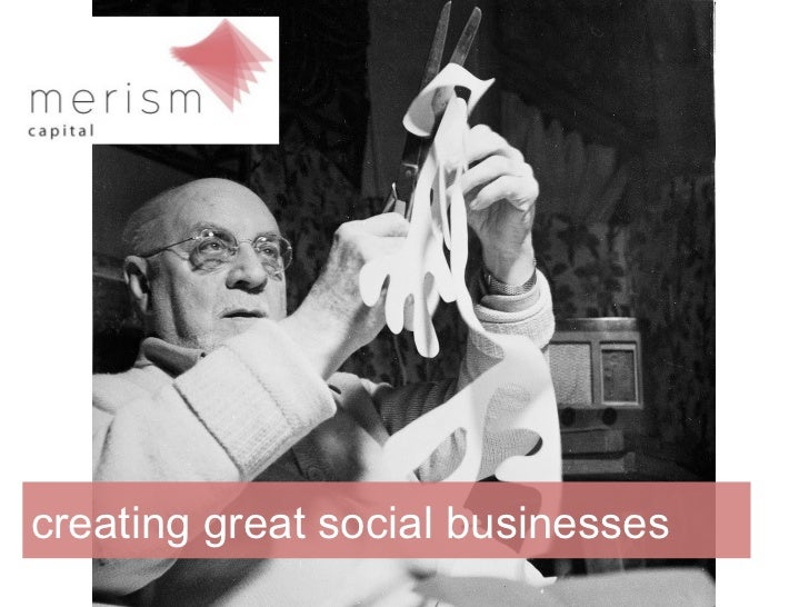 creating great social businesses