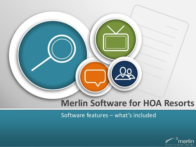 Merlin Software for HOA Resorts Software features – what's included