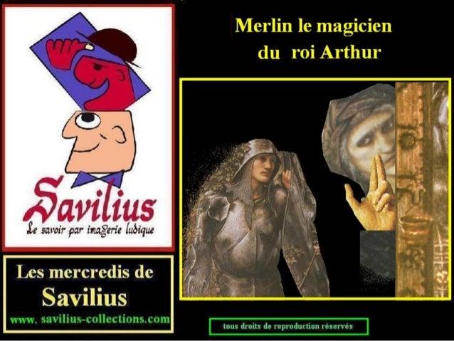 Merlin le magicien du roi Arthur