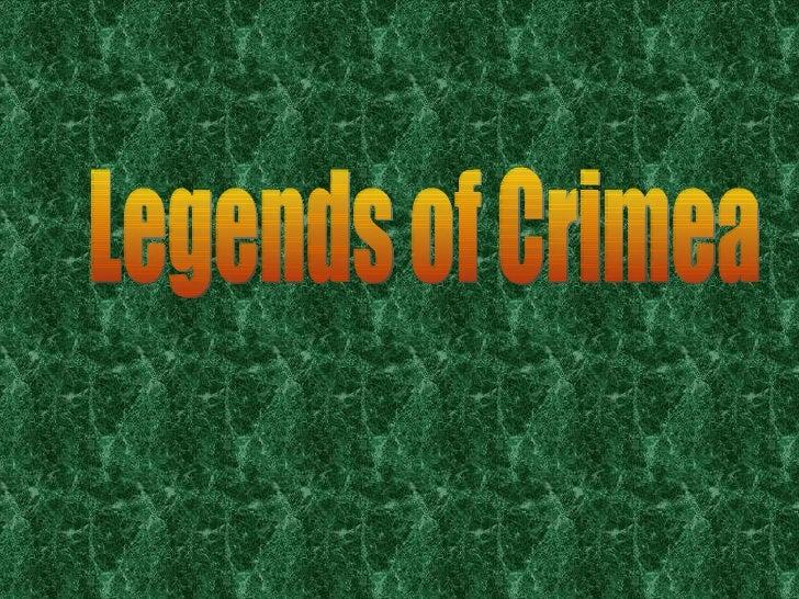 Legends of Crimea