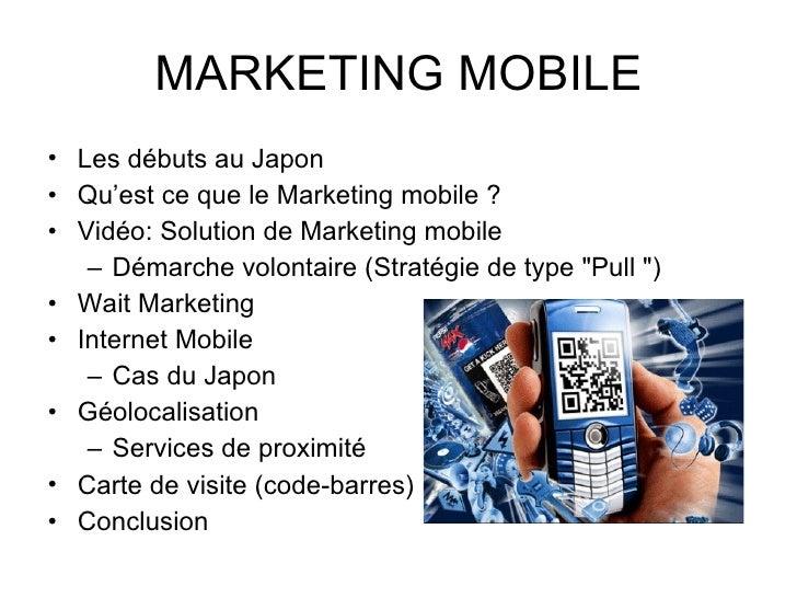"Marketing mobile ""Evolution des outils et stratégies"" Slide 2"