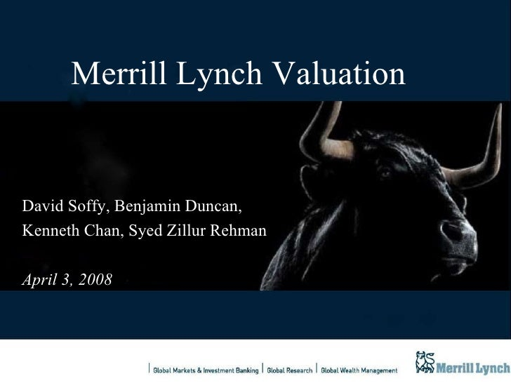 evaluation of the merrill lynch website Bank of america is one of the world's largest bank of america merrill lynch is a global leader in corporate and investment banking and fx etrading evaluation day.