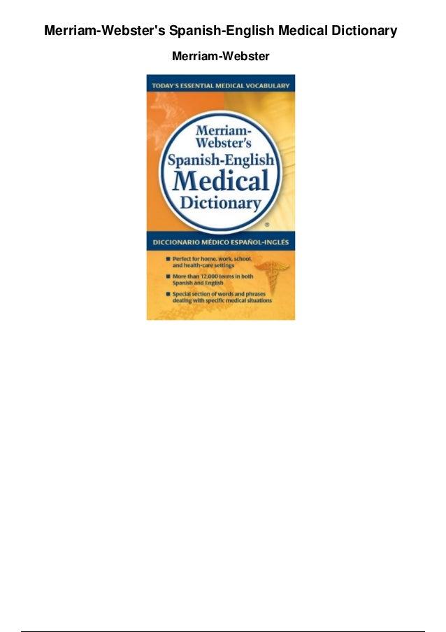 Medical Dictionary Pdf