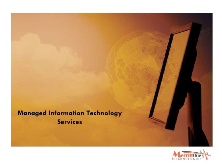 Managed Information Technology Services