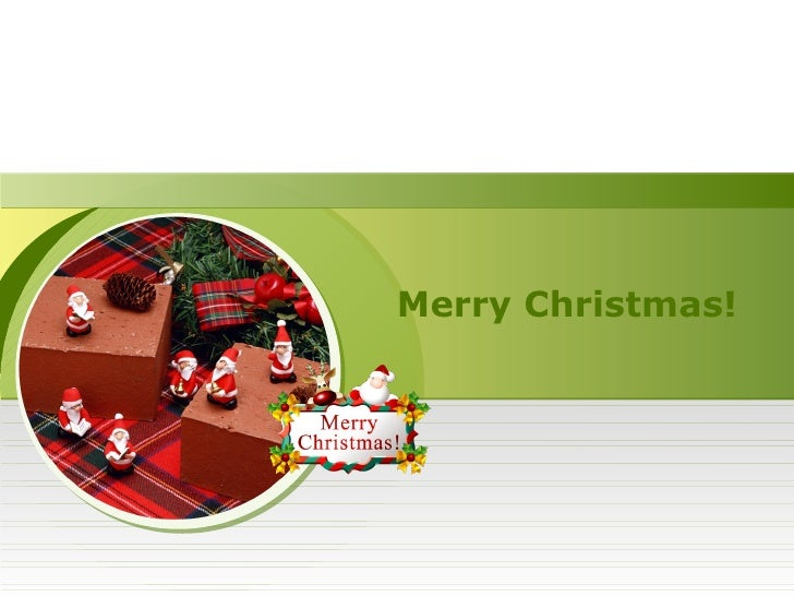 Free Christmas PowerPoint Templates Slide 3
