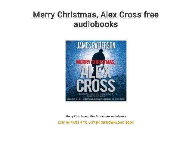 merry christmas alex cross free audiobooks merry christmas alex cross free audiobooks link in - Merry Christmas Alex Cross