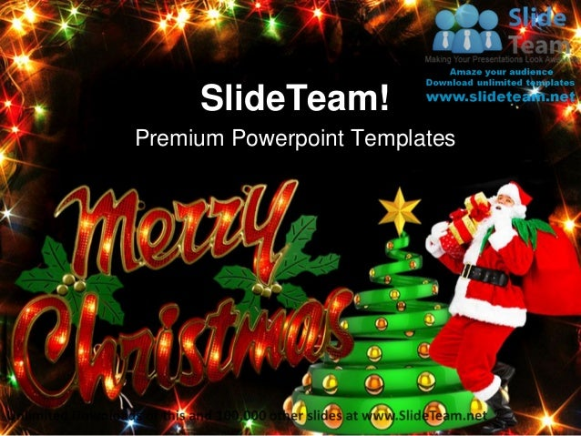 Merry christmas festival power point templates themes and backgrounds premium powerpoint templates toneelgroepblik Image collections
