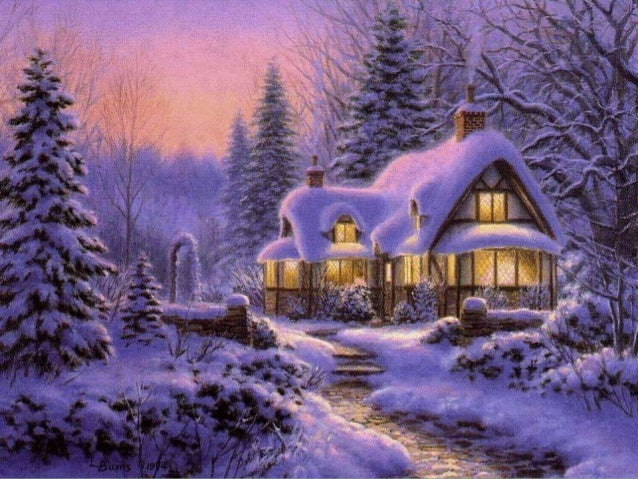 Merry Christmas & Happy New Year – Beautiful cold Christmas images with Norah Jones & Willie Nelson's 'Baby, it's cold outside' Slide 3