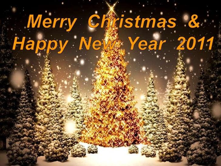 Merry Christmas & HappyNew Year2011<br />