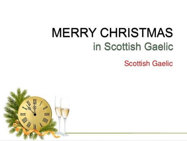 scottish gaelic 26 - Merry Christmas In Gaelic