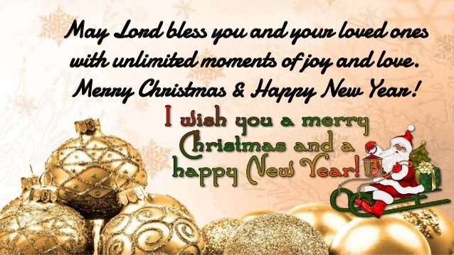 Merry Christmas Wishes And Motivational Happy New Quotes