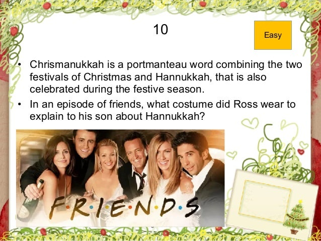 George Zacharia 10 • Chrismanukkah is a portmanteau word combining the two festivals of Christmas and Hannukkah, that is a...