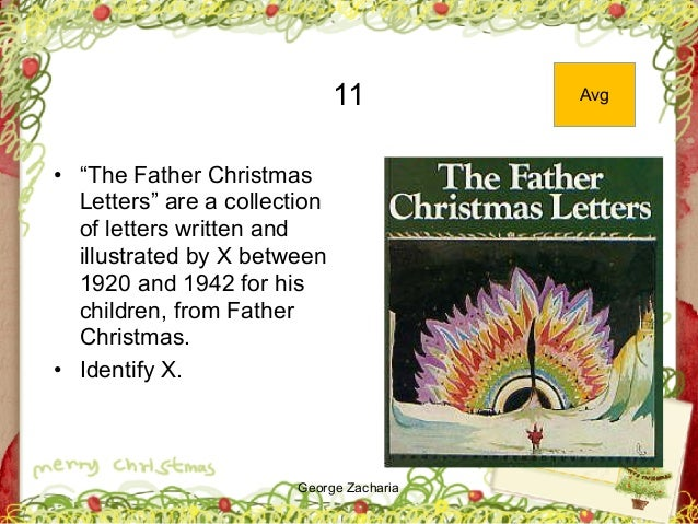 """George Zacharia 11 • """"The Father Christmas Letters"""" are a collection of letters written and illustrated by X between 1920 ..."""
