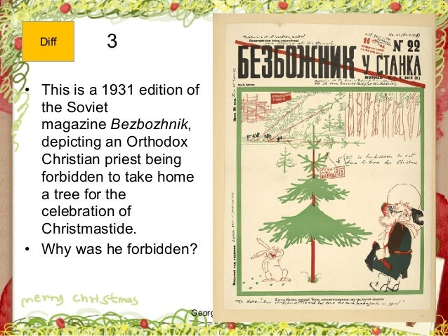 George Zacharia 3 • This is a 1931 edition of the Soviet magazine Bezbozhnik, depicting an Orthodox Christian priest being...