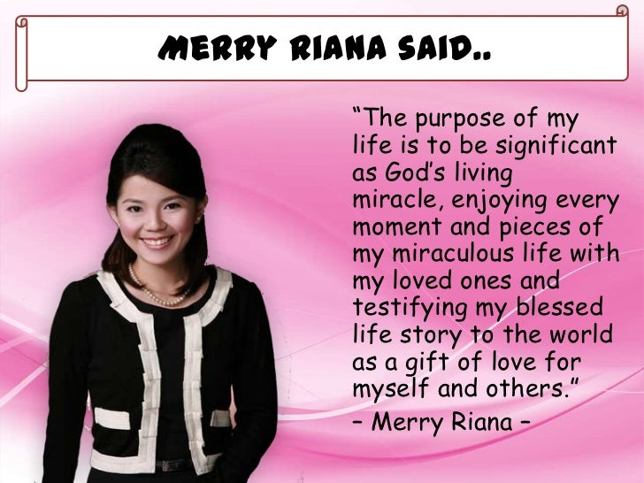 Kata Kata Motivasi Merry Riana Dalam Bahasa Inggris
