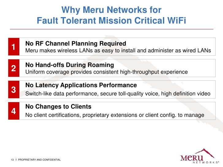 Meru networks history & evolution of wi fi