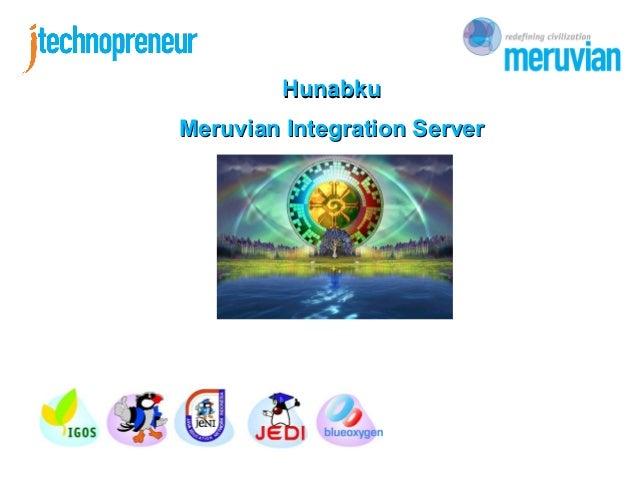 HunabkuMeruvian Integration Server