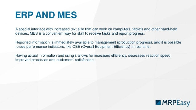 MES - Manufacturing Execution System Explained