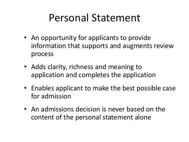 csula personal statement