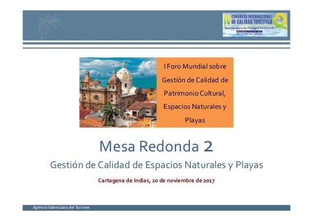 Gesti n de calidad de espacios naturales y playas en la - Gestion de espacios ...