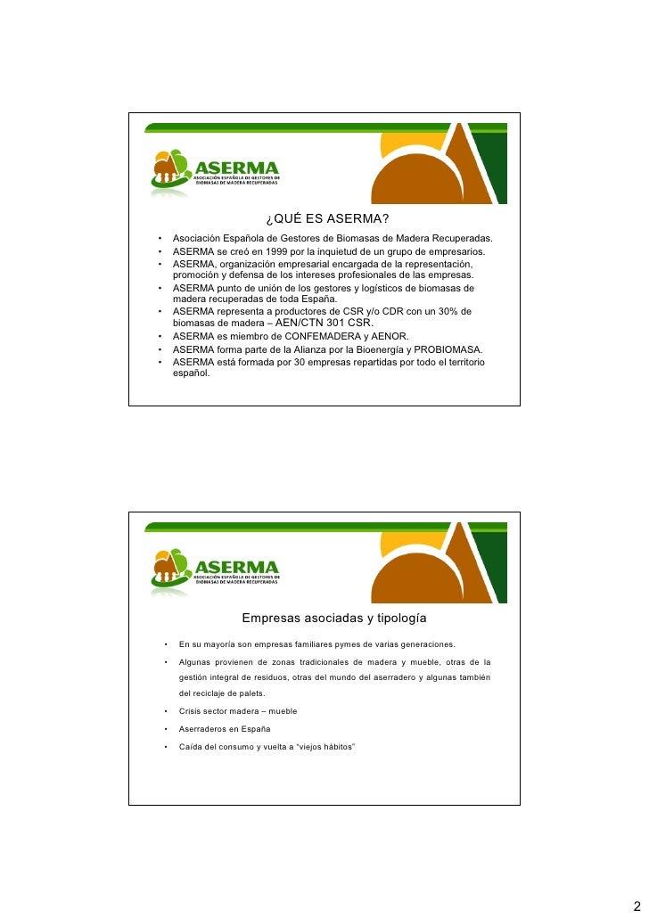 Mesa redonda II Jornada sobre el potencial de los residuos de Aragón Slide 2