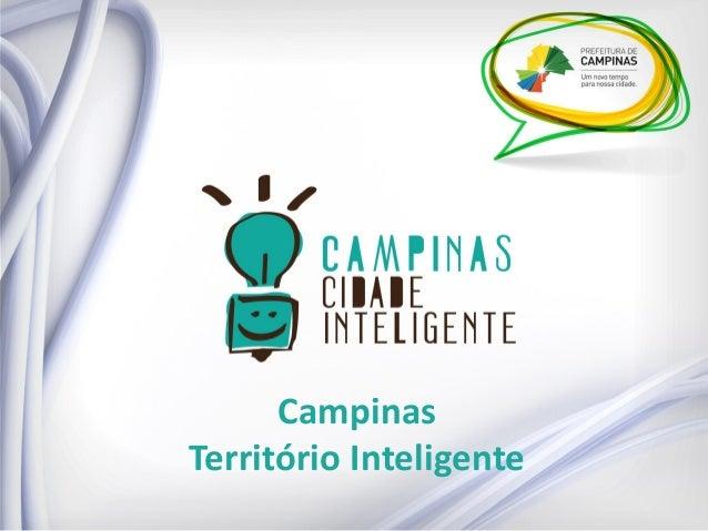 Campinas  Território Inteligente