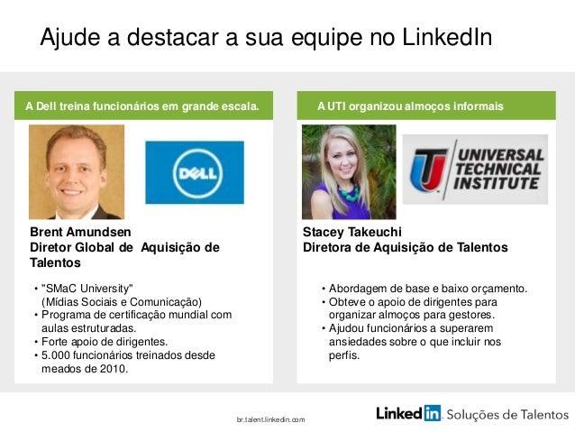 50% das candidaturas a vagas no LinkedIn são enviadas através de recursos e não encontradas em pesquisas. 95% de profissio...