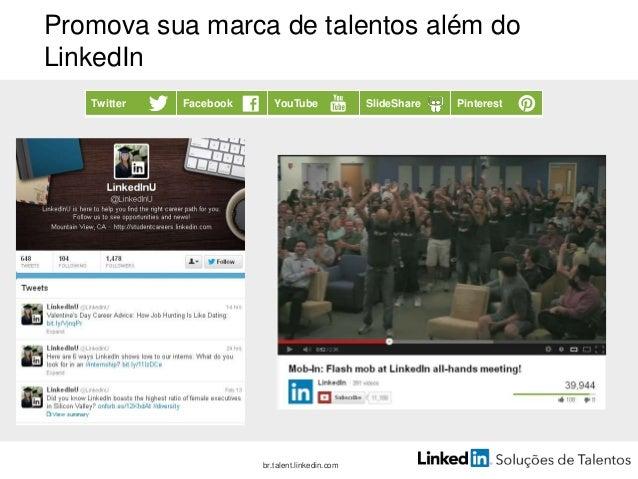 Etapa 5: mensure e ajuste Somente um em cada três br.talent.linkedin.com