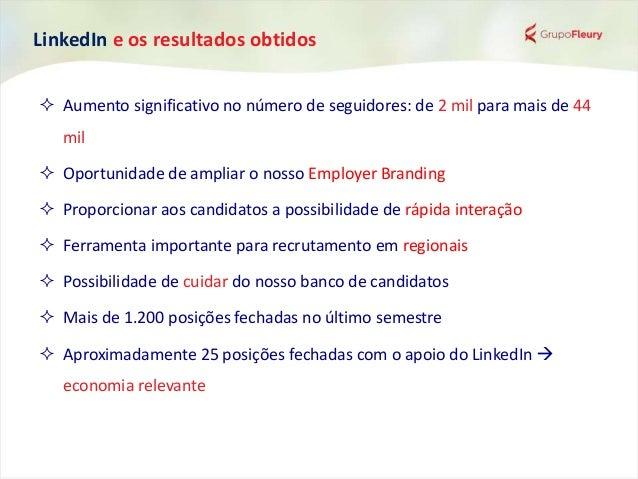 LinkedIn e os resultados obtidos Economia de mais de R$ 330 mil! Principais posições fechadas no último semestre: • Analis...