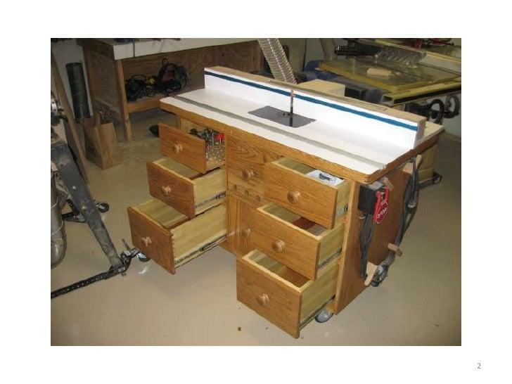 Mesas para router para madera for Mesitas de madera