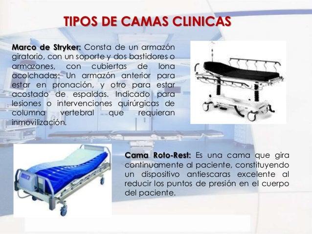 Mesas y camas clinicas