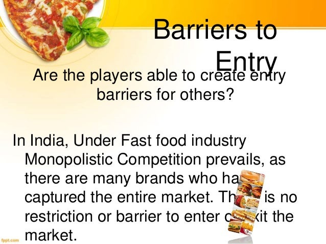 barriers for entry in automobile industry india