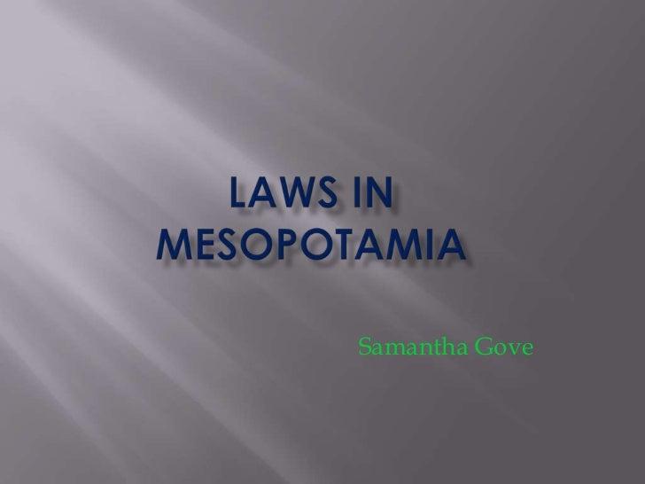 Samantha Gove