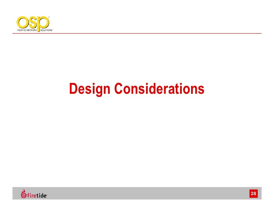 Voip Planning And Design Considerations