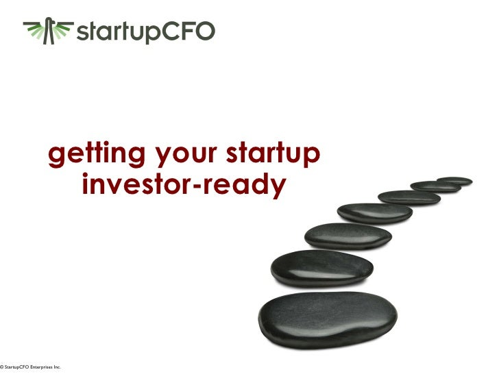getting your startup investor-ready