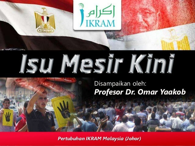 Disampaikan oleh: Profesor Dr. Omar Yaakob Pertubuhan IKRAM Malaysia (Johor)
