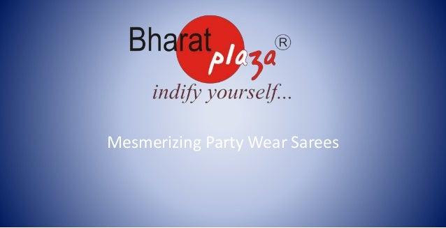 Mesmerizing Party Wear Sarees