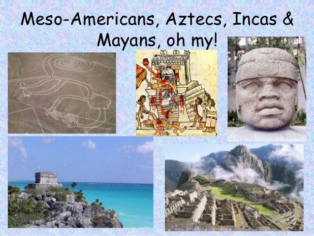 Document summary mayans aztecs and incans