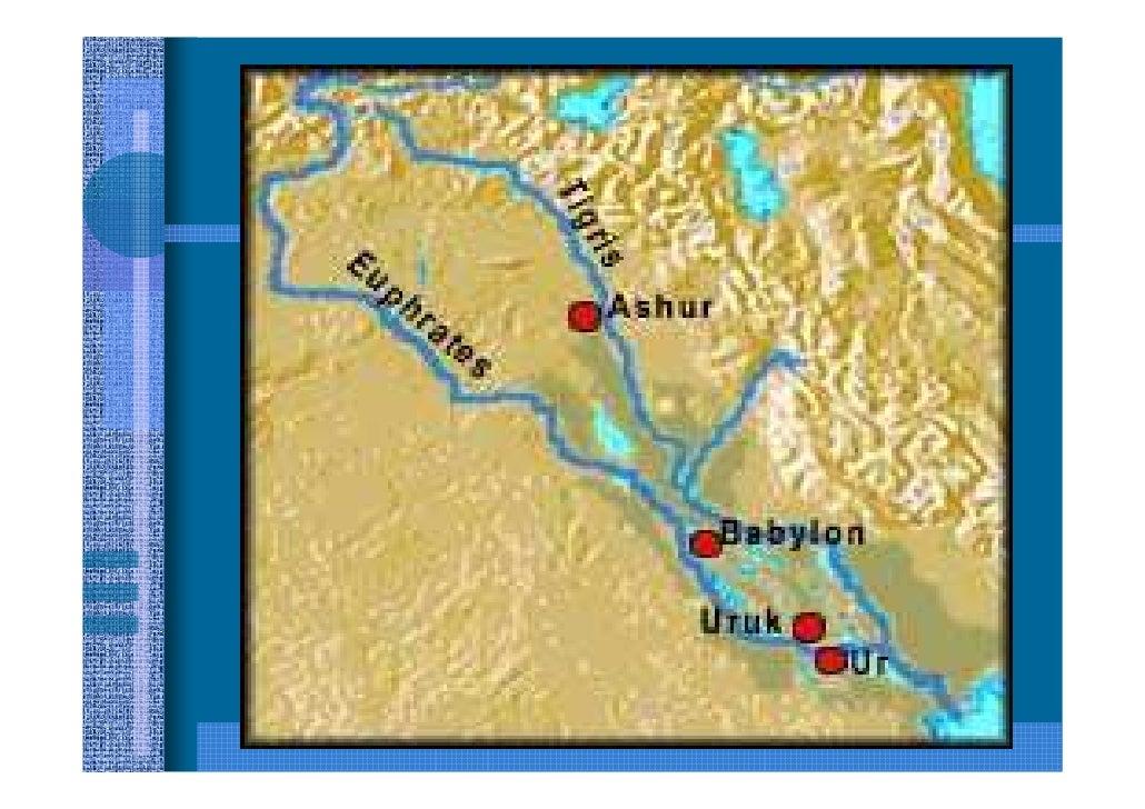1. Sumérios e Acadianos        (antes de 2000 a.C.)     Os sumérios foram provavelmente os primeiros a habitar o sul da Me...