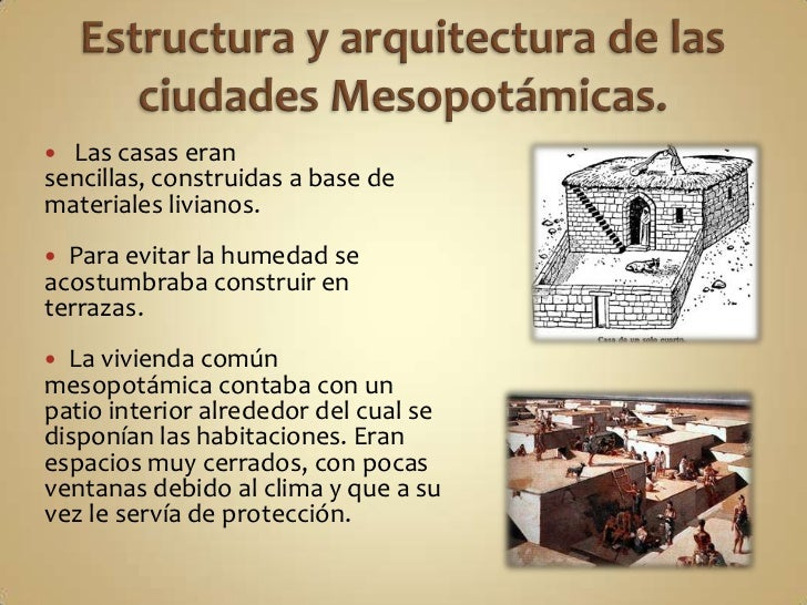 Mesopotamia Como eran las casas griegas