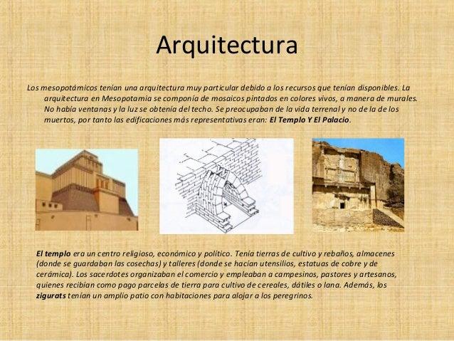 Mesopotamia for 5 tecnicas de la arquitectura